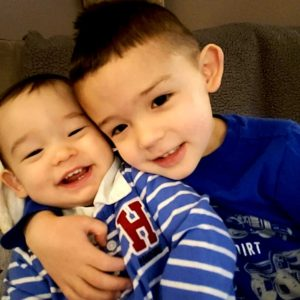 National Sons Day - Landon and Kayden